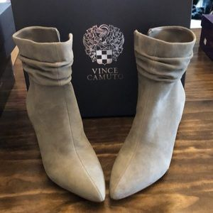 Vince Camuto suede boots. New w/box!